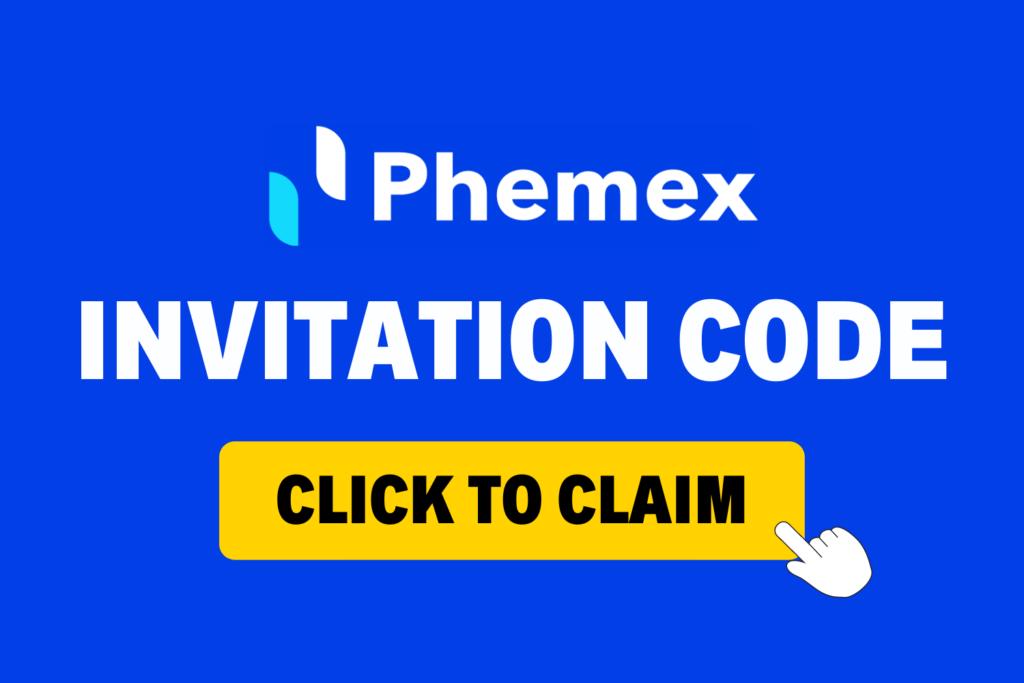 phemex invitation code